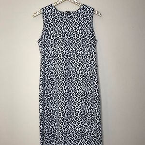Calvin Klein Animal Print Dress | Size 8